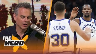 Colin on the Durant-Curry tandem, rumors of LeBron considering the Warriors | NBA | THE HERD