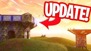 UPDATE! NIEUW SPIKY STADIUM IN PLAYGROUND!! PORT A FORTRESS GAMEPLAY in FORTNITE!
