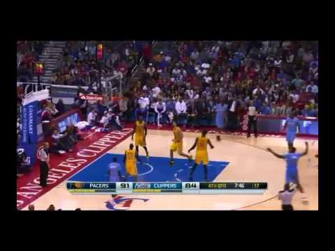 NBA CIRCLE - Indiana Pacers Vs LA Clippers Highlights 1 Dec. 2013 www.nbacircle.com