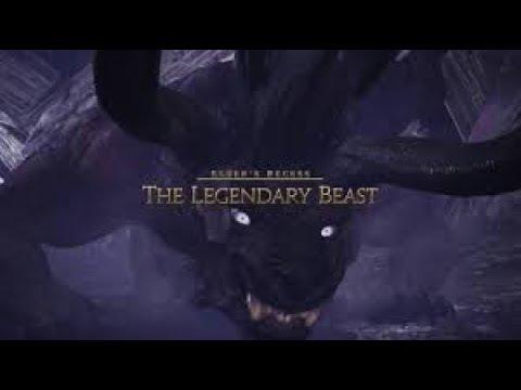 MHW - Slaying The Legendary Beast   Behemoth Squad Hunt