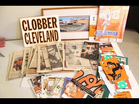 Vintage Baltimore Orioles Baseball Memorabilia Souvenir 1983 World Series Ripken