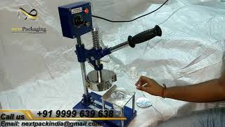 Manual foil sealing machine , Heat sealing Machine