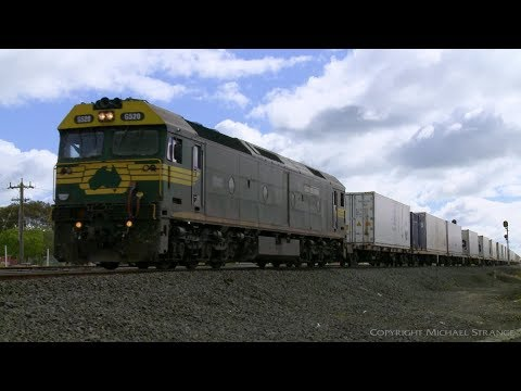 7904V Mildura To Melbourne Container Train - PoathTV Australian Railways