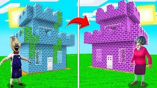 KORKUNÇ DONDURMACI KALE VS KORKUNÇ ÖĞRETMEN KALE! 😱 - Minecraft