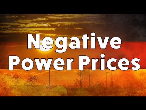 Negative Power Prices - Are they good for consumers? A look at the German Power Market