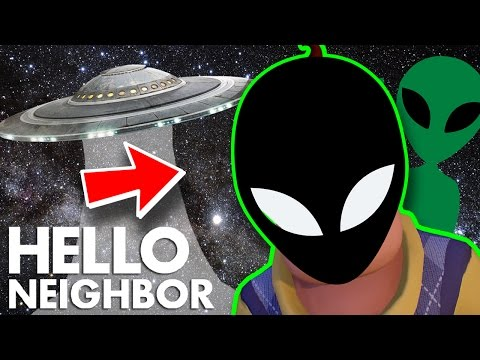 Minecraft Hello Neighbor - Is The Neighbor A Alien (Minecraft Roleplay)
