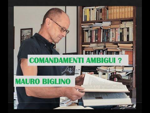 MAURO BIGLINO 'COMANDAMENTI AMBIGUI'