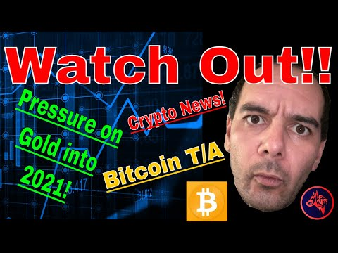 WATCH OUT!! PRESSURE ON GOLD INTO 2021, Crypto News & BITCOIN T/A