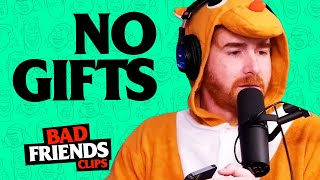 Bobby Lee Forgets To Buy Gift For Andrew Santino | Bad Friends Clips