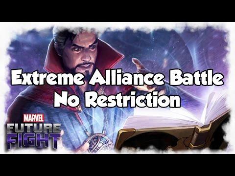 [Marvel Future Fight] Extreme Alliance Battle No Restriction