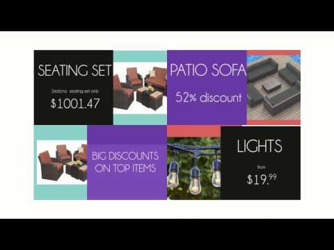 Discount Patio Store, Best Solution For Garden Patio Ideas.