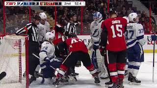 Tampa Bay Lightning vs Ottawa Senators - February 22, 2018 | Game Highlights | NHL 2017/18