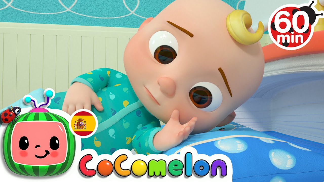 CoComelon en Español   Llega la cama nueva de JJ   Compilación de Canciones Infantiles