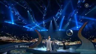 Eurovision 2008 Final - Serbia - Jelena Tomasevic - Oro