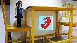 Занимательная физика для детей. Выставка физика. Огромные мыльные пузыри. Видео для детей(Идём с Эмилюшей на выставку физики