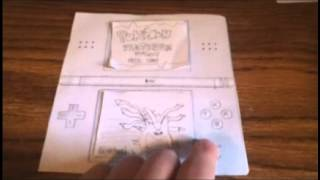 Pokemon platinum on paper ds