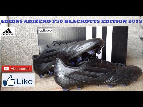 adidas adizero f50 fg leather blackout 2015