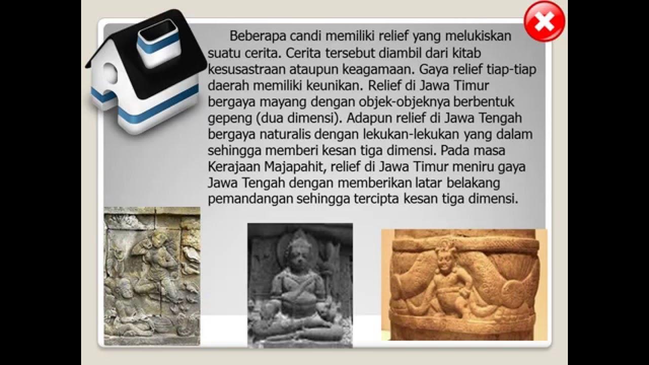 Seni Rupa Dan Seni Ukir Pada Masa Hindu Budha Youtube