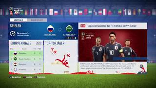 FIFA 2018 World Cup - Simulacija Grupne Faze - Gameplay #01