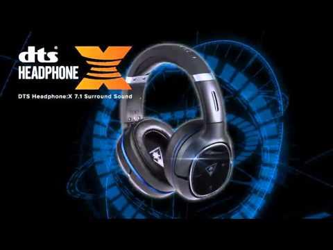 Turtle Beach Elite 800 Premium Wireless with DTS Headphone:X 7 1 Surround  Sound Gaming Headset (PS4/PS3)