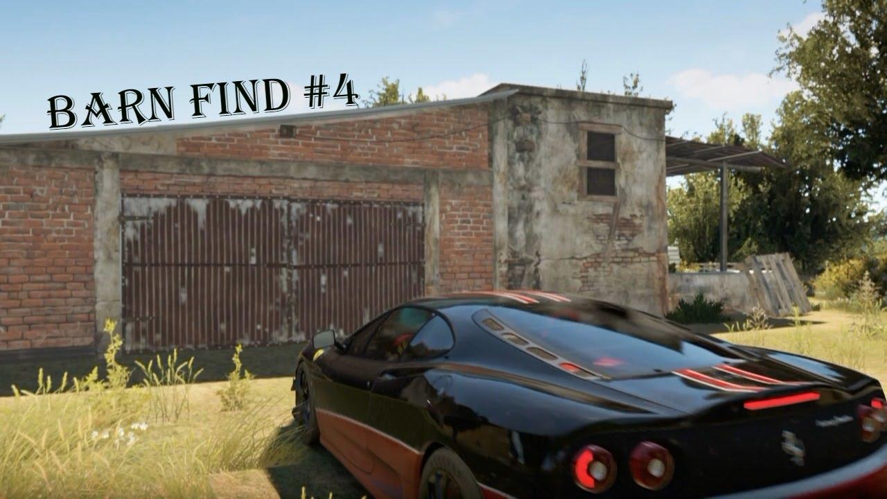 Forza Horizon 2 Barn Find 4 Italia