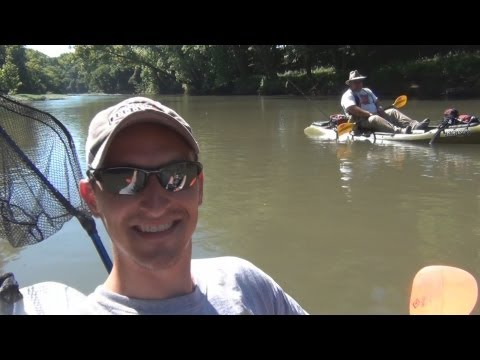 Bass Fishing Tennessee's Red River 2013.
