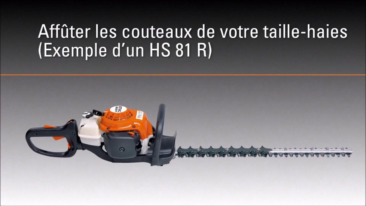 V2movie Tuto 5 Affuter Les Couteaux De Son Taille Haie