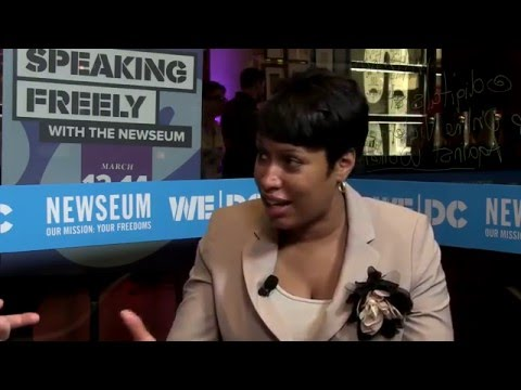 """Speaking Freely"" with the Newseum at SXSW: Mayor Muriel Bowser on D.C.'s Tech Scene"