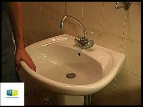 plomberie changer un lavabo cass plumbing change a broken sink youtube. Black Bedroom Furniture Sets. Home Design Ideas
