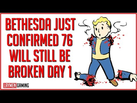 Bethesda Announcement Confirms Worst Fears Fallout 76 Launch