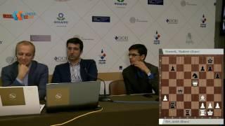 Аниш Гири и Владимир Крамник о партии 7 тура. Мемориал Таля 2016