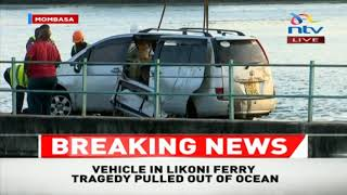 Likoni Ferry Accident: Closer look at car that plunged into ocean