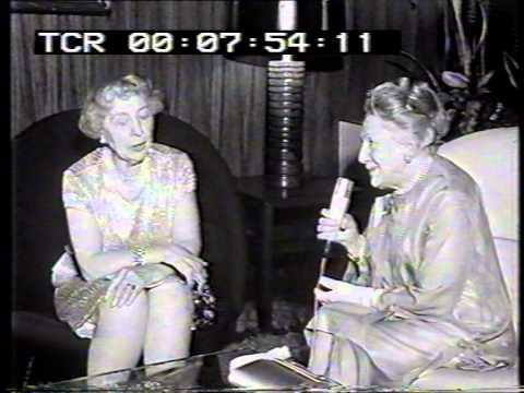 Dame Edith Evans meets Agnes Windeck - Berlinale 1967