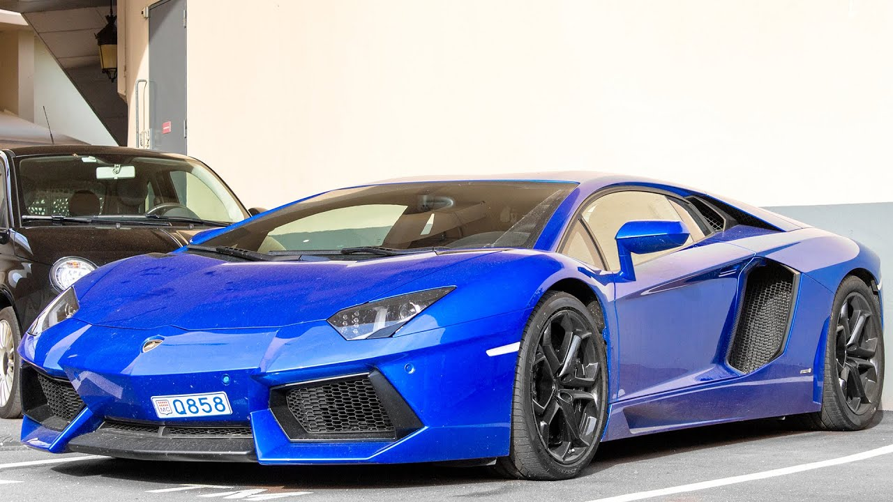 blue lamborghini aventador lp700 4 review and driving 2015 hq youtube. Black Bedroom Furniture Sets. Home Design Ideas