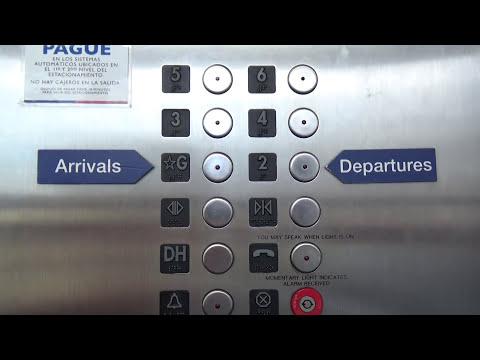 San Juan, PR: Montgomery Traction Elevators @ San Juan International Airport Parking Garage