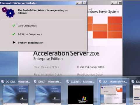 Infraestructura Windows Server 2003 - ISA, Exchange, Web, FTP - Parte1