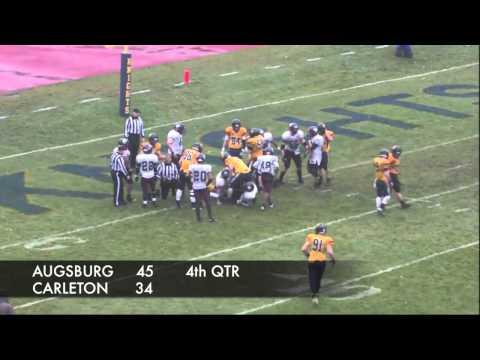 Carleton College Football Highlights vs. Augsburg (Nov. 18, 2013)