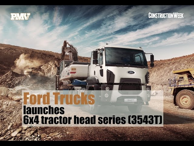Ford Trucks launches 6x4 tractor head series - Vehicles