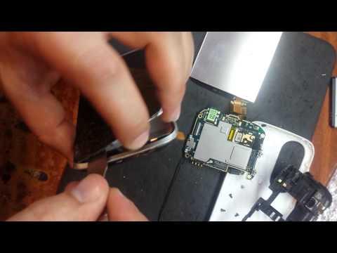 HTC DESIRE X замена тачскрина