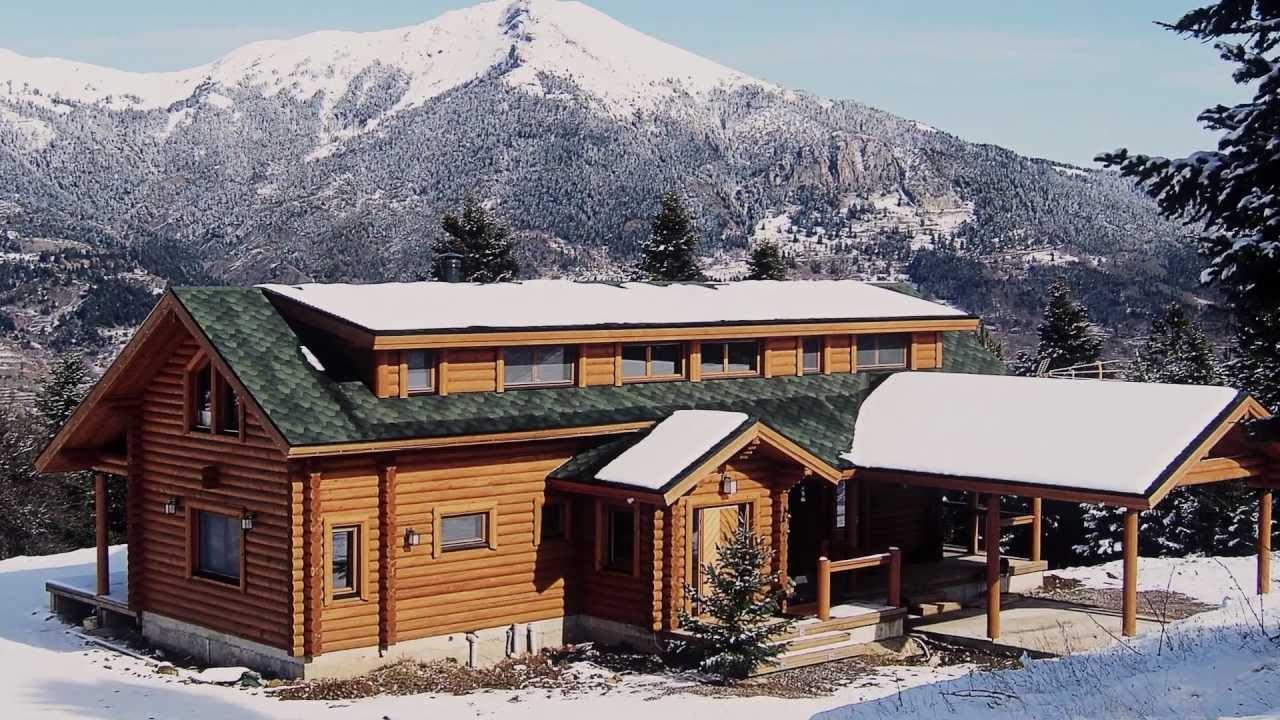 Maisons en bois d 39 ikihirsi maisons en rondins maison for Maison en bois finlandaise