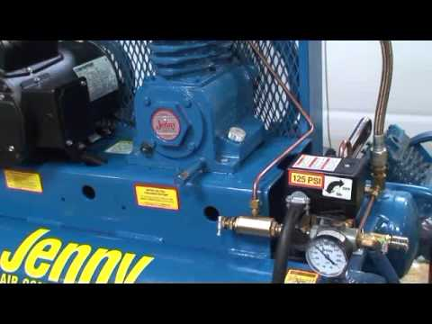 Jenny Compressor Video K Pilot Valve Diagnostic Test