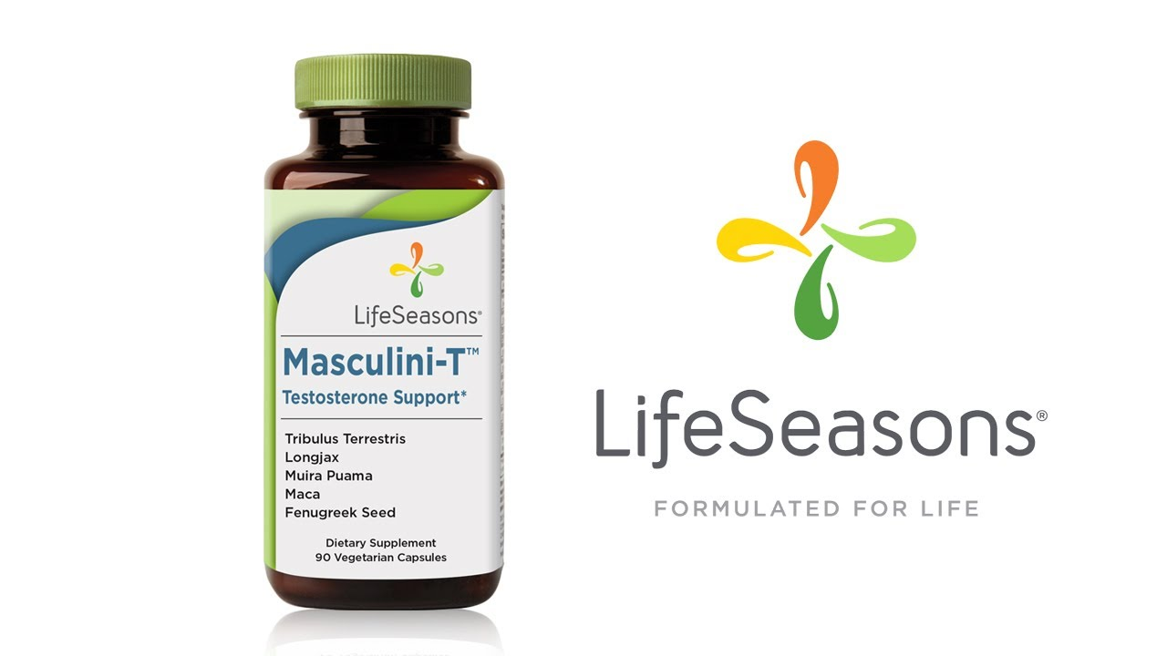 Testosterone Supplement  Masculini-T Support by LifeSeasons