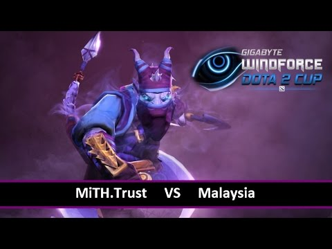 [ Dota2 ] MiTH.Trust vs Malaysia - Gigabyte Windforce Dota2 Cup - Thai Caster