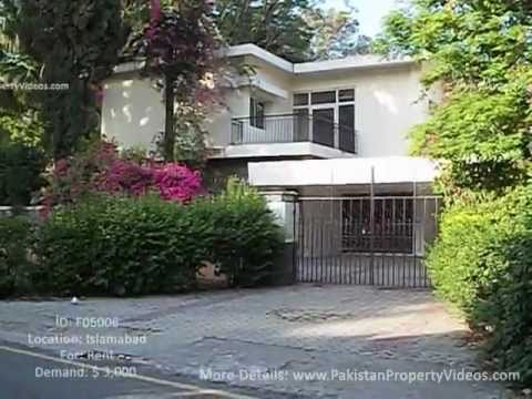 Rent Property at the base of Margalla Hills in Islamabad (F06006) - www.PakistanPropertyVideos.com