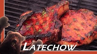 Bear Attack! Spicy Lime Honey Glazed Porkchops - Latechow: Episode 49