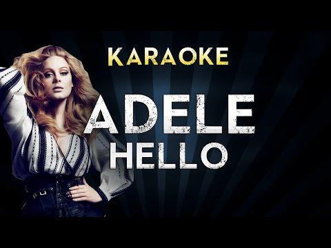 Adele - Hello | Piano Karaoke Instrumental Lyrics Cover Sing Along