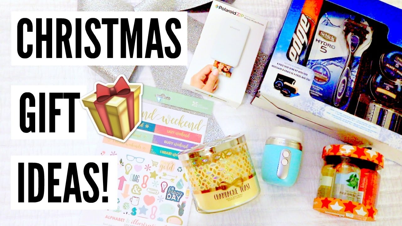 Christmas Gift Ideas 2016 Holiday Gift Guide For Him Her Youtube