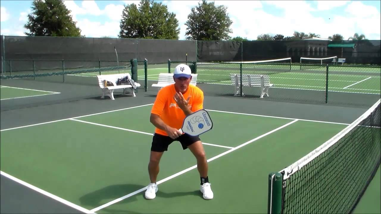 how to keep the ball low in pickleball