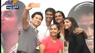 Sachin Tendulkar's Selfie Moment With Rio Olympic Winners