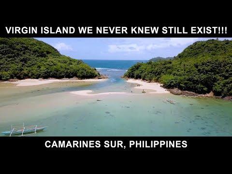 VIRGIN ISLAND we never knew still exist!!! (Camarines Sur, Bicol, Philippines)